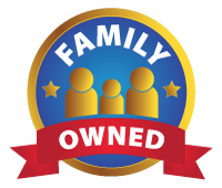 Family owned badge
