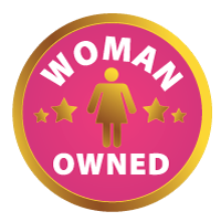 Woman owned badge