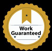 Work guaranteed badge